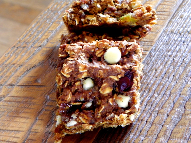 pumpkin oat bars